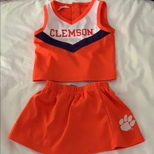 Clemson tiger cheerleader outfit